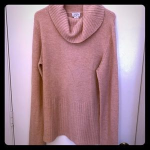 Ann Taylor LOFT pale pink oversized sweater